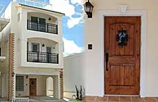 沖縄の洋風住宅施工例
