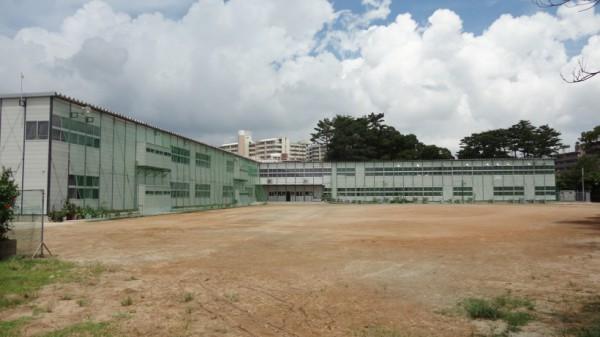 第二小仮設校舎1