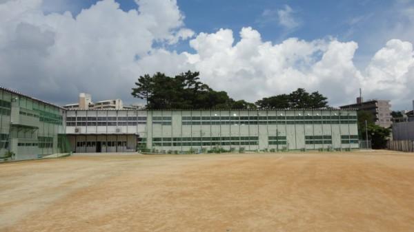 第二小仮設校舎2