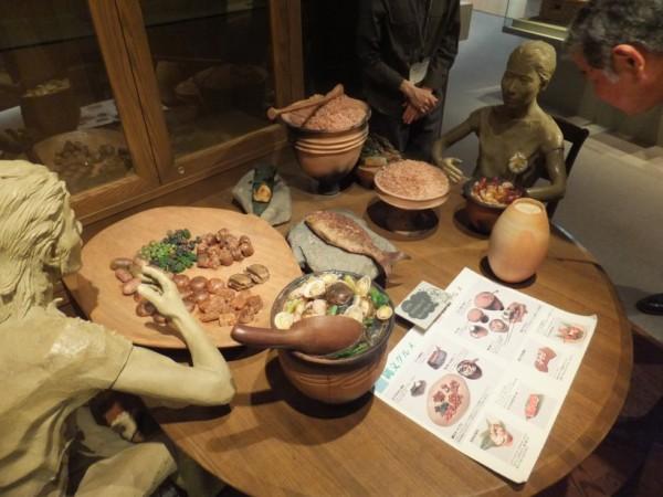 縄文と弥生の食事